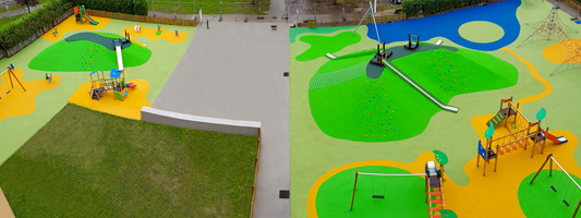 LA CORUÑA PLAYGROUNDFS FOR CHILDREN New big format playground
