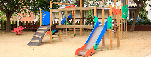 BARCELONA PLAYGROUNDS Martorell inaugurates two new playgrounds
