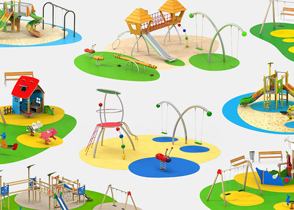 Playground equipment Play areas