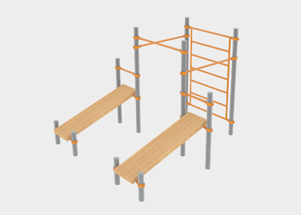 Playground equipment Street Workout