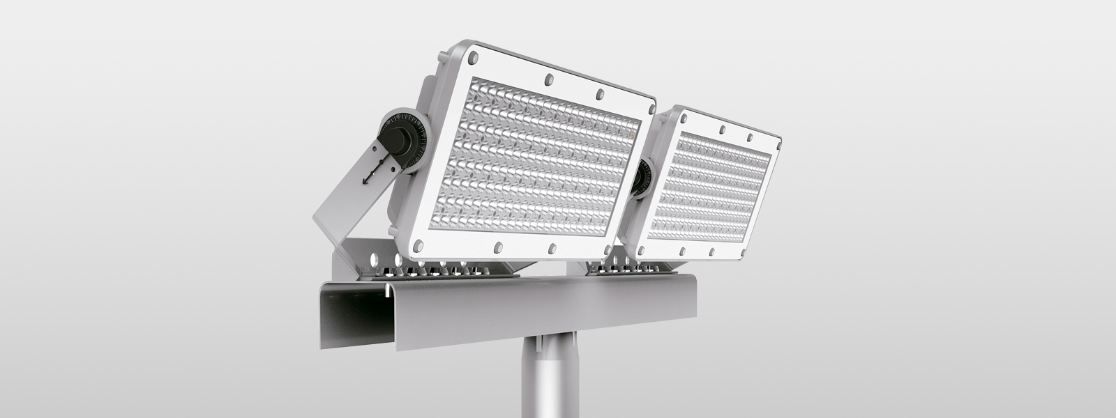 Lighting for stadiums and football pitches
